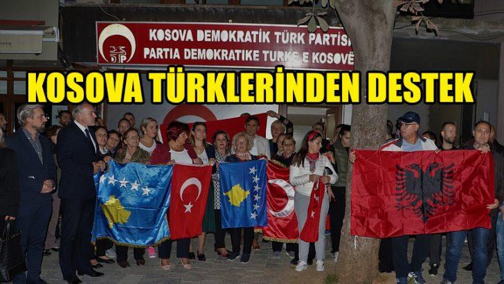 Kosova Türklerinden Barış Pınarı Harekatı'na destek