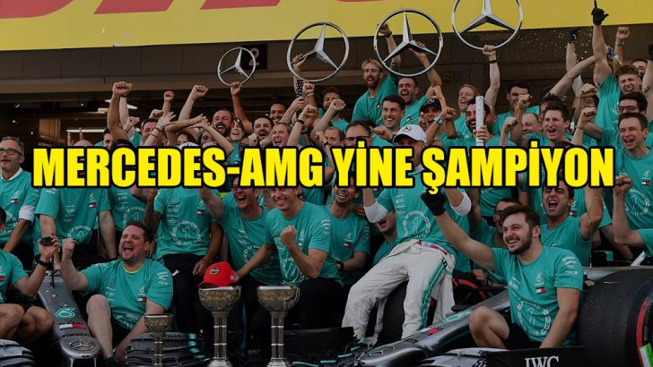 Mercedes-AMG Petronas üst üste 6. kez dünya şampiyonu oldu
