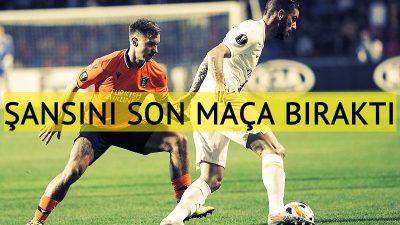 Medipol Başakşehir gruptan çıkma şansını son maça bıraktı