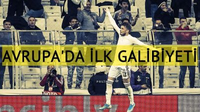 Beşiktaş, Avrupa Ligi'nde ilk galibiyetini aldı