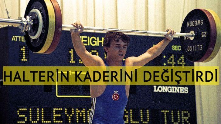 """Türkiye'de halterin kaderi """"Cep Herkülü"""" ile değişti"""