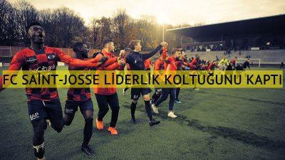 Crossing Schaerbeek'i deviren FC Saint-Josse lider oldu