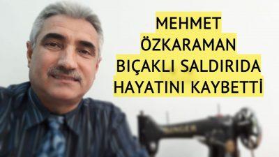 Türk toplumunun sevilen yüzü cinayete kurban gitti