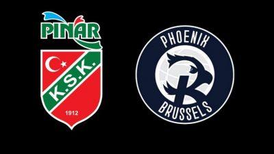 Pınar Karşıyaka, Phoenix Brüksel'i konuk edecek