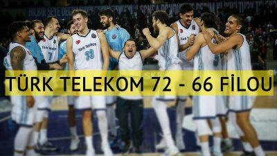 Türk Telekom Belçika temsilcisine şans tanımadı