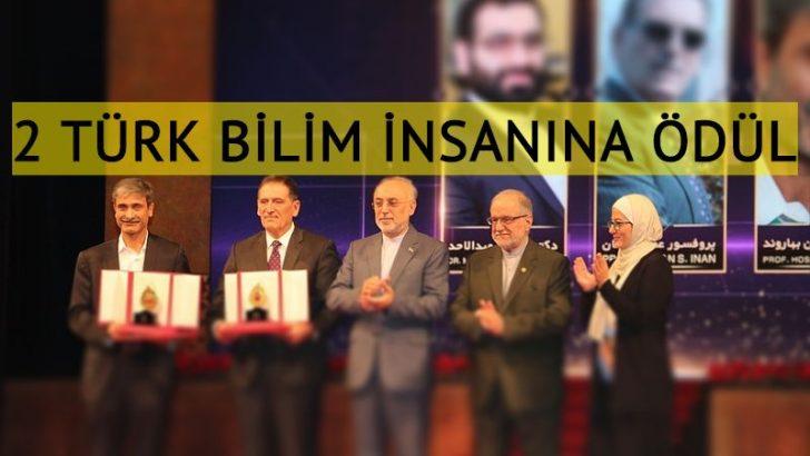 İran'da 2 Türk bilim insanına ödül verildi