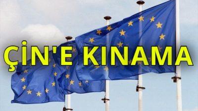 Avrupa Parlamentosu, Uygur Türkleri konusunda Çin'i kınadı