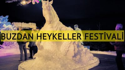 """Hollanda'da """"Buzdan Heykeller"""" festivali başladı"""