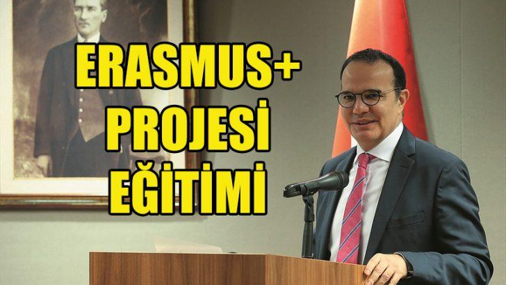 Brüksel'de Erasmus+ Projesi eğitimi verildi