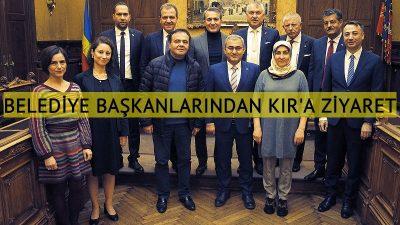 Belediye başkanlarından Emir Kır'a ziyaret