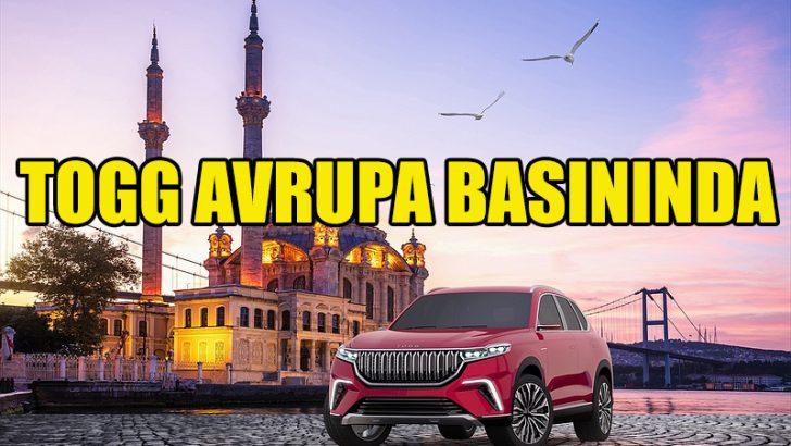 """""""Türkiye'nin Otomobili"""" Avrupa basınında"""