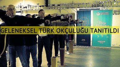 Brüksel'de geleneksel Türk okçuluğu tanıtıldı
