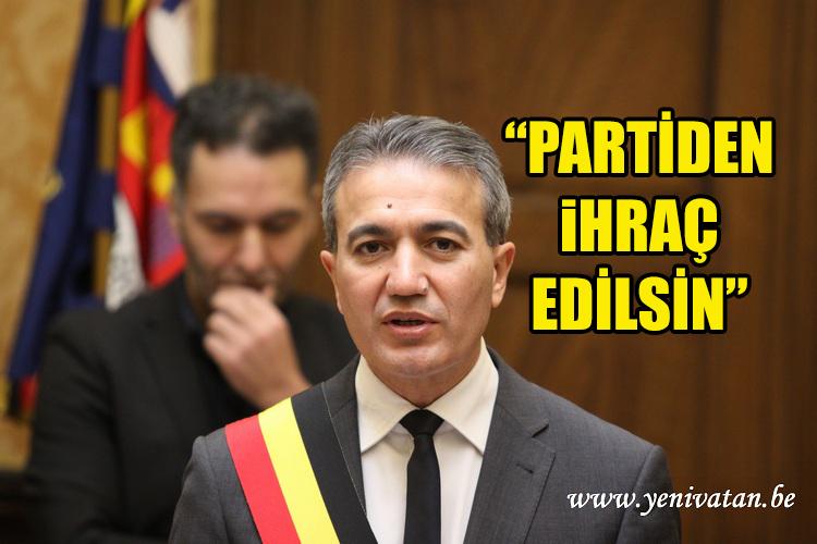 Emir Kir Partiden Ihrac Edilsin Yenivatan Belcika