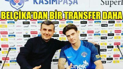 Belçika'dan Kasımpaşa'ya bir transfer daha