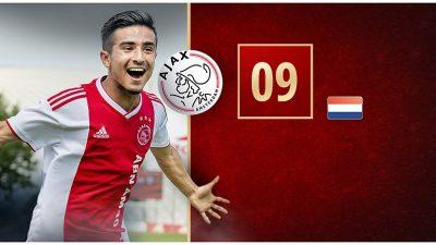 Naci Ünüvar Ajax tarihine geçti