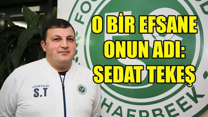 FC Schaerbeek'in fenomen ismi Sedat Tekeş