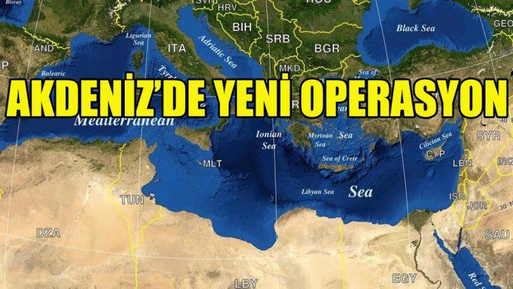 AB'den Akdeniz'de yeni operasyon kararı