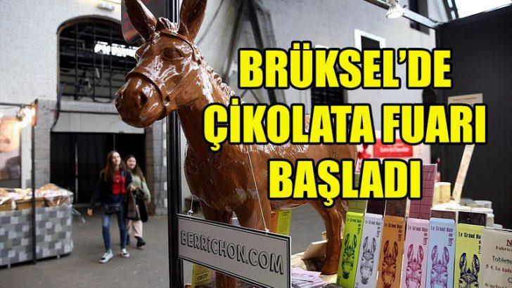 Brüksel Çikolata Fuarı 7.kez düzenleniyor