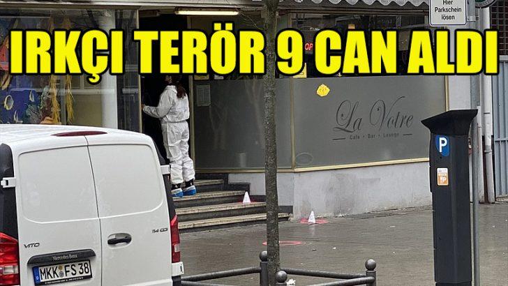 Almanya'da ırkçı terör 9 can aldı