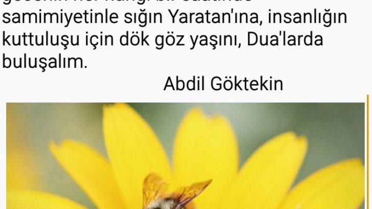 """""""Sabır ey Adem oğlu Adem sabır"""""""