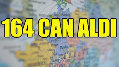Avrupa ülkelerinde 164 can aldı