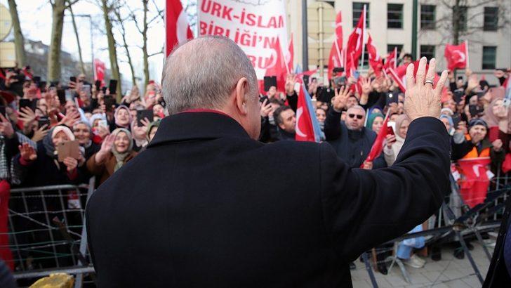 Cumhurbaşkanı Erdoğan, Brüksel'de vatandaşlara hitap etti