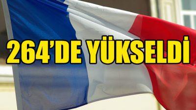 Fransa'da koronavirüsten ölenlerin sayısı 264'e yükseldi