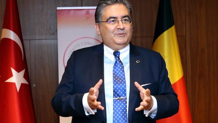 Brüksel'deki Türk Büyükelçilerden AA'ya kutlama