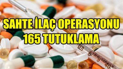 Avrupa'da sahte ilaç operasyonu: 165 tutuklama