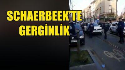Schaerbeek'te polis kontrolü sırasında gerginlik yaşandı