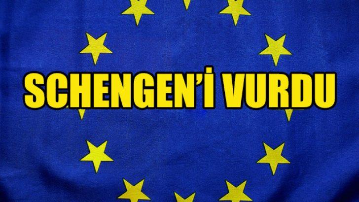 Avrupa'da Kovid-19 salgını Schengen'i vurdu