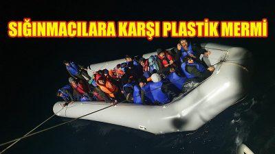 Sığınmacılara karşı plastik mermi kullanımına yeşil ışık