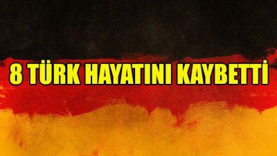 Almanya'da Kovid-19 nedeniyle 8 Türk hayatını kaybetti