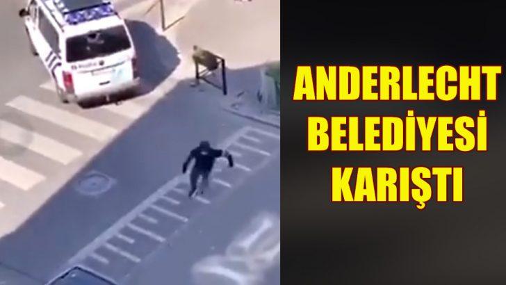 Anderlecht belediyesinde gençler polisle çatıştı