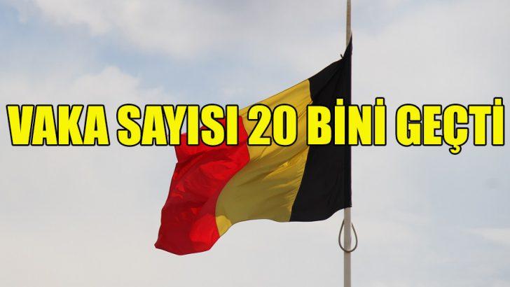 Belçika'da Kovid-19 vakası sayısı 20 bini aştı