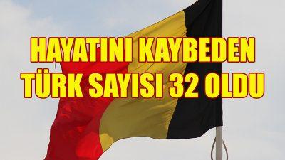 Kovid-19 nedeniyle hayatını kaybeden Türk sayısı 32 oldu