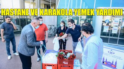 Berchem Selimiye Camii'nden hastane ile karakola yardım eli