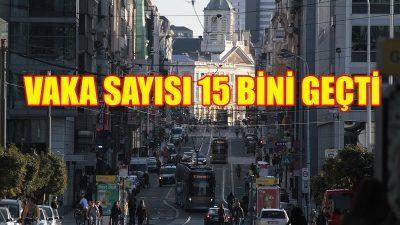 Belçika'da Kovid-19 vaka sayısı 15 bini aştı