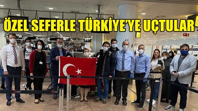 Belçika'da kalan çok sayıda vatandaş Türkiye'ye döndü