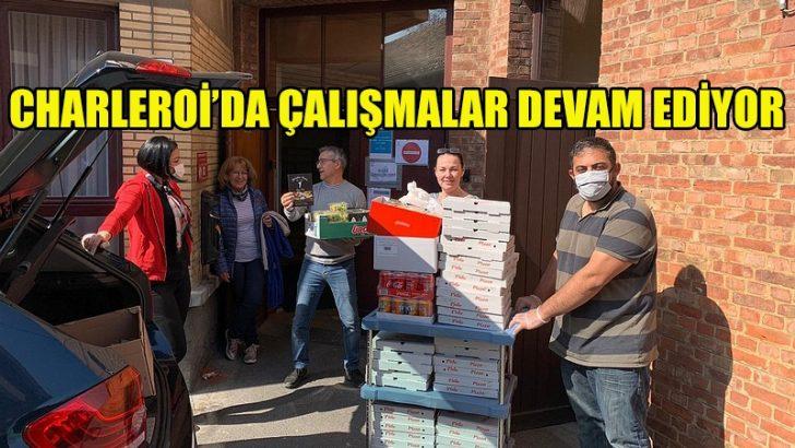 UID Belçika'nın Charleroi'da yardım çalışmaları devam ediyor