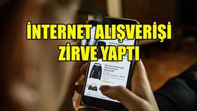 Avrupalıların yüzde 60'ı internet alışverişi yaptı