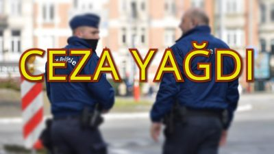 Kovid-19 yüzünden vatandaşlara ceza yağdı