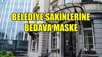 Saint-Josse Belediyesi bütün sakinlerine maske dağıtacak