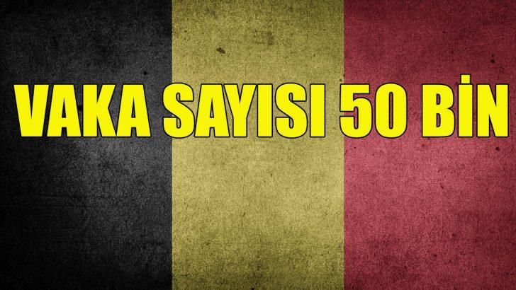Belçika'da Kovid-19 vaka sayısı 50 bini geçti
