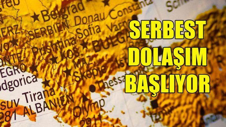 Bulgaristan, Sırbistan ve Yunanistan arasında serbest dolaşım
