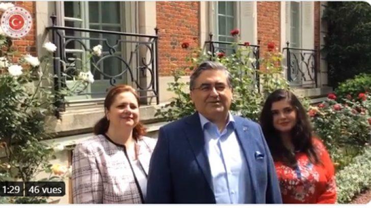 Büyükelçi Ulusoy'dan video görüntülü bayram mesajı