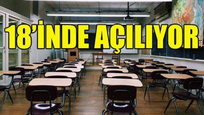 Belçika'da okullar 18 Mayıs'ta açılacak