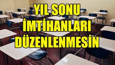 """Flaman okullarına """"Yıl sonu sınavları olmasın"""" tavsiyesi"""