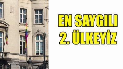 Belçika, LGBT hak ve özgürlüklerine en saygılı 2. ülke