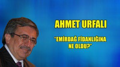 """""""Emirdağ fidanlığına ne oldu?"""""""